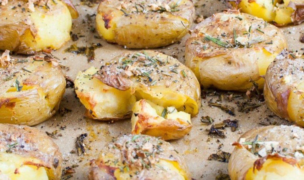 Πανευκολούρα! Πατάτες φούρνου τσακιστές με δενδρολίβανο - μια συνταγή της Αργυρώς μας  - Κυρίως Φωτογραφία - Gallery - Video