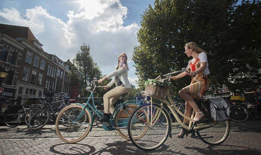 Ολλανδία: Ποδηλατόδρομος φτιάχτηκε με 180.000 τόνους από ανακυκλωμένο χαρτί υγείας  - Κυρίως Φωτογραφία - Gallery - Video