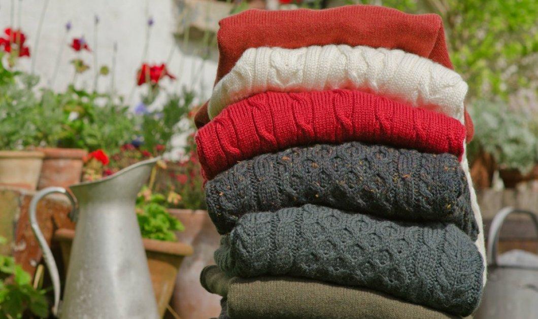 Τα 5 έξυπνα tips για να φρεσκάρετε τα πουλόβερ σας χωρίς να ξοδέψετε ούτε ευρώ!  - Κυρίως Φωτογραφία - Gallery - Video