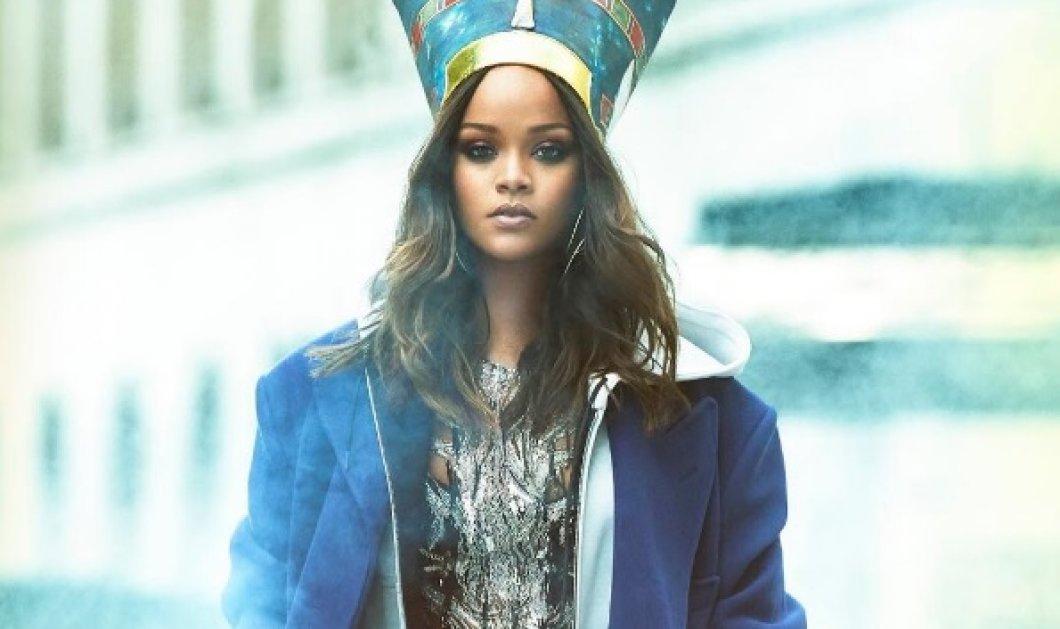 Rihanna: Η εντυπωσιακή φωτογράφησή της για την Vogue Arabia - Κυρίως Φωτογραφία - Gallery - Video