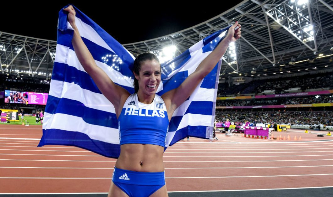 Κατερίνα Στεφανίδη: Η πρώτη Ελληνίδα που ψηφίστηκε Ευρωπαία αθλήτρια της χρονιάς  - Κυρίως Φωτογραφία - Gallery - Video