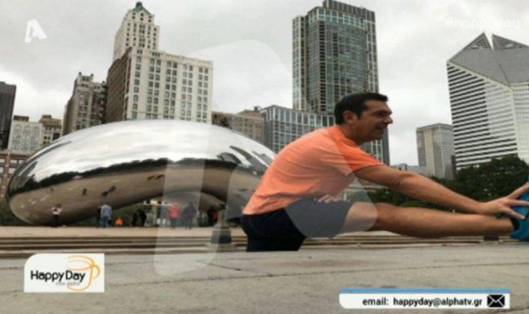 Ο Αλέξης Τσίπρας έβαλε το σορτσάκι του και βγήκε για τρέξιμο στην Ουάσιγκτον - Δείτε φωτογραφίες - Κυρίως Φωτογραφία - Gallery - Video