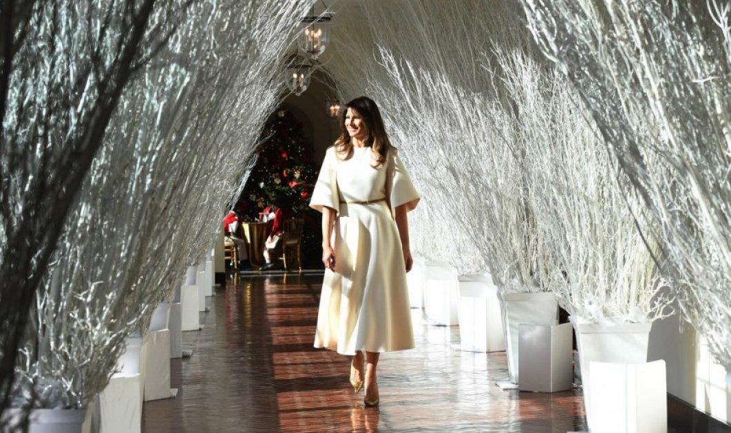 Η χριστουγεννιάτικη  διακόσμηση στον Λευκό Οίκο από την Μελάνια Τραμπ  σε πάει στο διάστημα & τρελαίνει το διαδίκτυο (ΦΩΤΟ) - Κυρίως Φωτογραφία - Gallery - Video