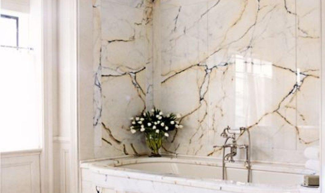 12 λευκά μπάνια για κάθε γούστο! Τροπικό στυλ ή μαύρες λεπτομέρειες; Οι φώτο θα σας καθοδηγήσουν στη σωστή λύση - Κυρίως Φωτογραφία - Gallery - Video