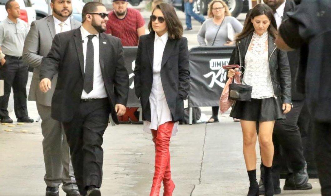 Οι Fendi σέξι μπότες της Μίλα Κούνις ξετρέλαναν το διαδίκτυο - Τρέχουν οι κυρίες για το κόκκινο μοντέλο (βίντεο)  - Κυρίως Φωτογραφία - Gallery - Video