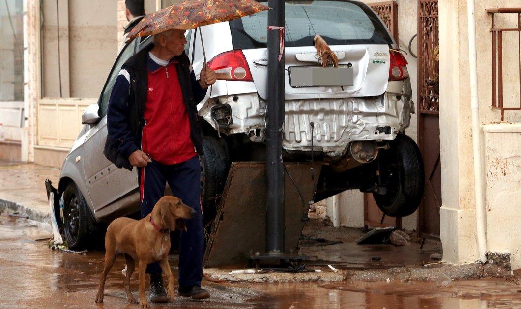 10 συνταρακτικές φωτογραφίες από την επόμενη μέρα στην Μάνδρα - Το σκηνικό βιβλικής καταστροφής μετά τη θεομηνία  - Κυρίως Φωτογραφία - Gallery - Video