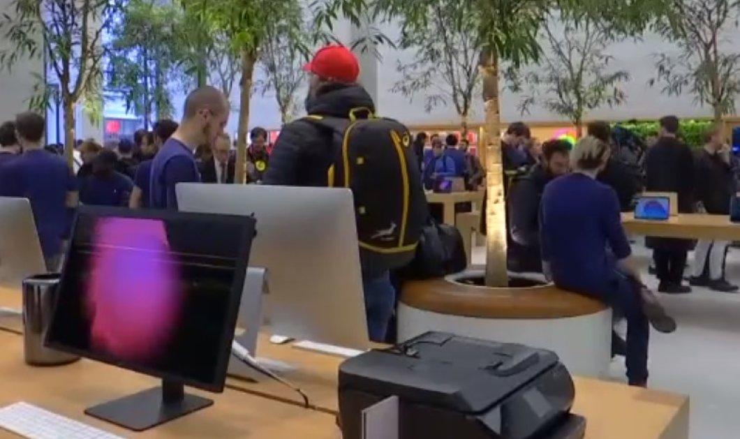 Ουρές σε όλο τον κόσμο για το νέο iPhone X - Στα ύψη οι πωλήσεις της Apple  - Κυρίως Φωτογραφία - Gallery - Video