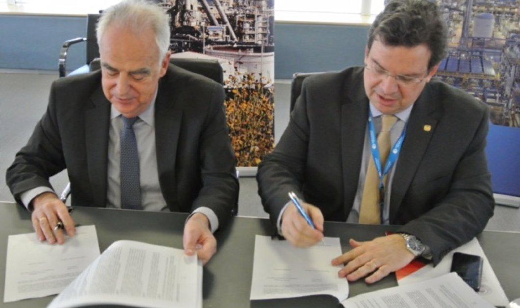 Υπογραφή Συμφώνου Συνεργασίας μεταξύ ΕΛΠΕ και ΑΠΘ - Κυρίως Φωτογραφία - Gallery - Video