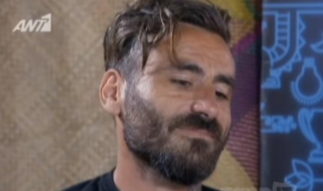 «Λύγισε» ο Γιώργος Μαυρίδης στο NOMADS - Δείτε γιατί (ΒΙΝΤΕΟ) - Κυρίως Φωτογραφία - Gallery - Video