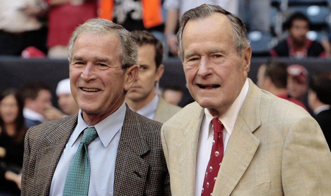 """Την Χίλαρι Κλίντον αποκάλυψε ότι ψήφισε το 2016 ο Τζόρτζ Μπους - """" Φαφλατάς ο Τραμπ"""" λέει (BINTEO) - Κυρίως Φωτογραφία - Gallery - Video"""