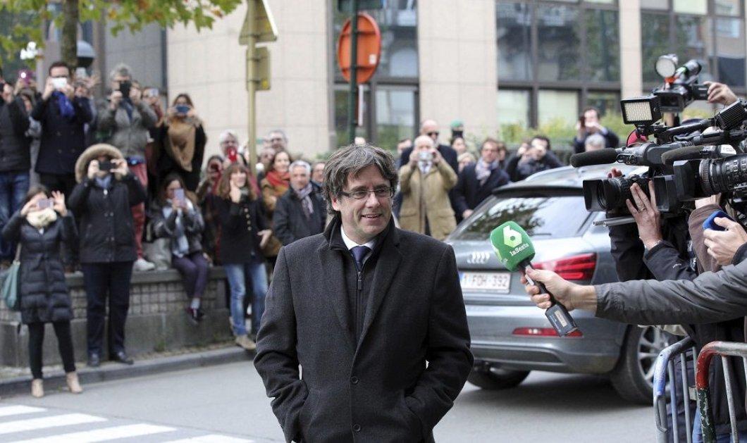 Δίκαιη δίκη ζητεί ο αυτοεξόριστος ηγέτης της Καταλονίας  - Κυρίως Φωτογραφία - Gallery - Video