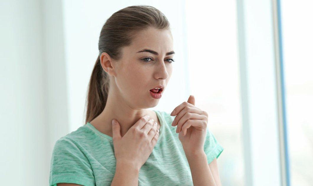 Με αυτούς τους 3 τρόπους θα απαλλαγείτε από το φλέμα στον λαιμό - Κυρίως Φωτογραφία - Gallery - Video