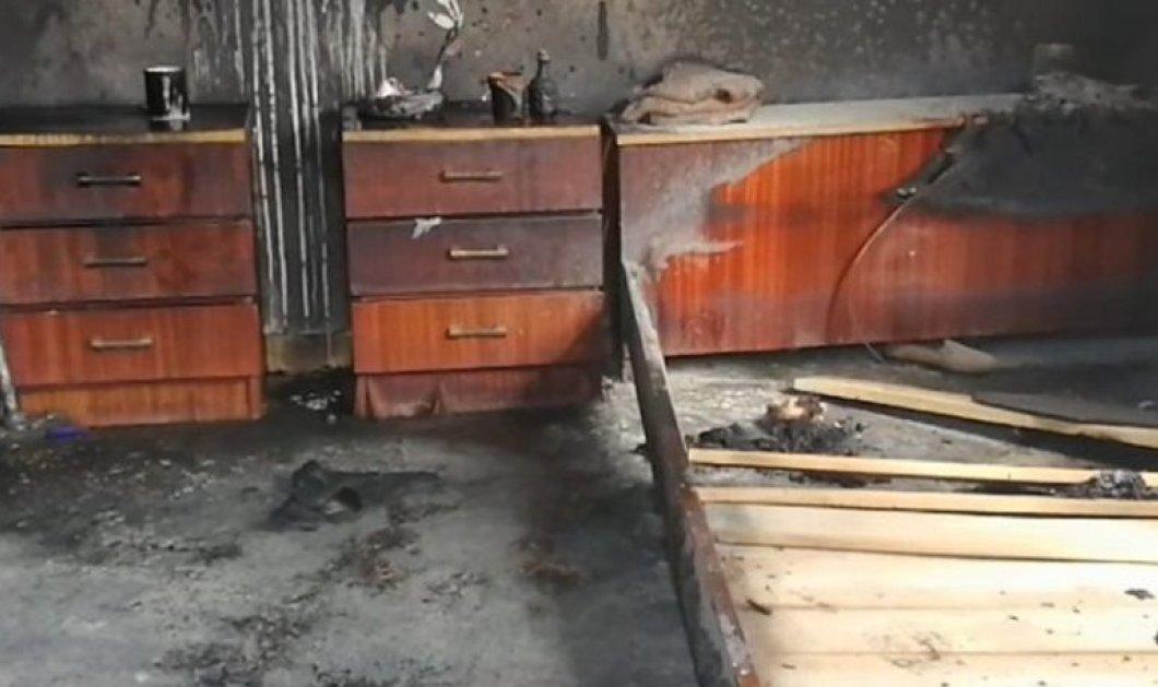 Σπάρτη: Συνελήφθη 53χρονος που φέρεται πως έκαψε την 95χρονη θεία του - Κυρίως Φωτογραφία - Gallery - Video