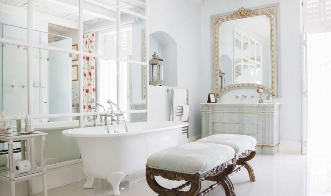"""23 ιδέες για να  """"μεταμορφώσετε"""" το μπάνιο σας στον πιο στυλάτο χώρο του σπιτιού! (ΦΩΤΟ) - Κυρίως Φωτογραφία - Gallery - Video"""