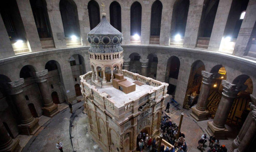 Σπουδαία ανακάλυψη: Οι επιστήμονες του ΕΜΠ αποδεικνύουν ότι ο τάφος του Χριστού είναι αυθεντικός (ΦΩΤΟ) - Κυρίως Φωτογραφία - Gallery - Video