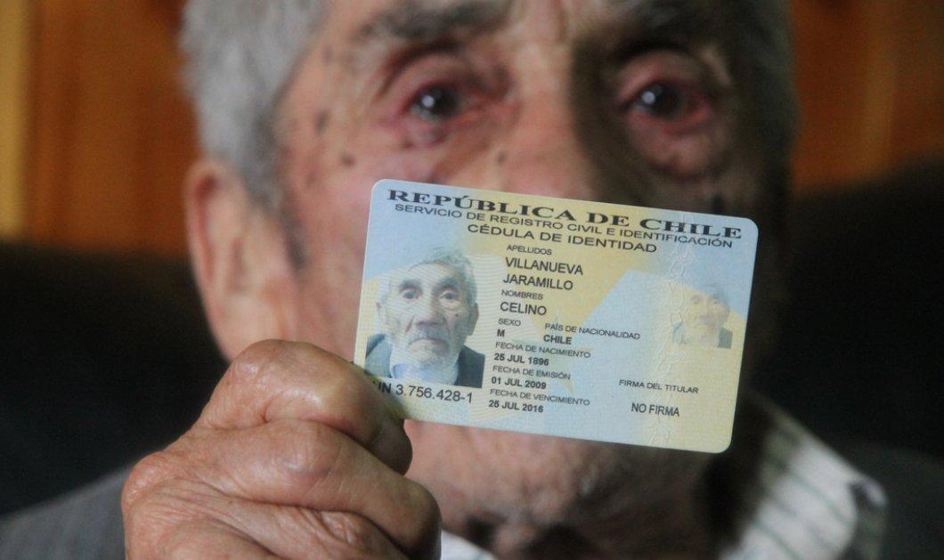 Είναι αυτός ο γηραιότερος άνδρας στον κόσμο; Ημερομηνία γέννησης το 1896!  - Κυρίως Φωτογραφία - Gallery - Video