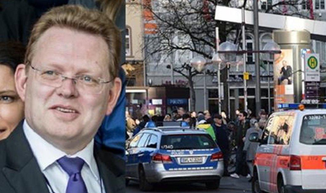 Γερμανία: Επίθεση με μαχαίρι δέχτηκε ο δήμαρχος που φιλοξένησε πρόσφυγες - Κυρίως Φωτογραφία - Gallery - Video