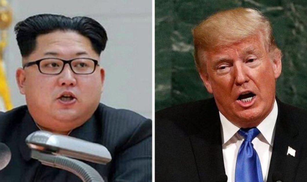 Ντόναλντ Τραμπ: Κιμ (Γιονγκ Ουν) μη με λες γέρο - Εγώ δεν σε είπα κοντό και χοντρό!  - Κυρίως Φωτογραφία - Gallery - Video