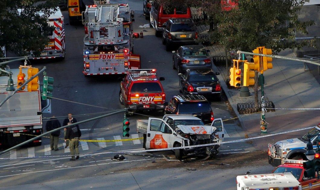 Τρομοκρατική επίθεση στο Μανχάταν: 8 νεκροί, 15 τραυματίες - Φορτηγάκι έπεσε πάνω σε ποδηλάτες&πεζούς (ΦΩΤΟ-ΒΙΝΤΕΟ) - Κυρίως Φωτογραφία - Gallery - Video