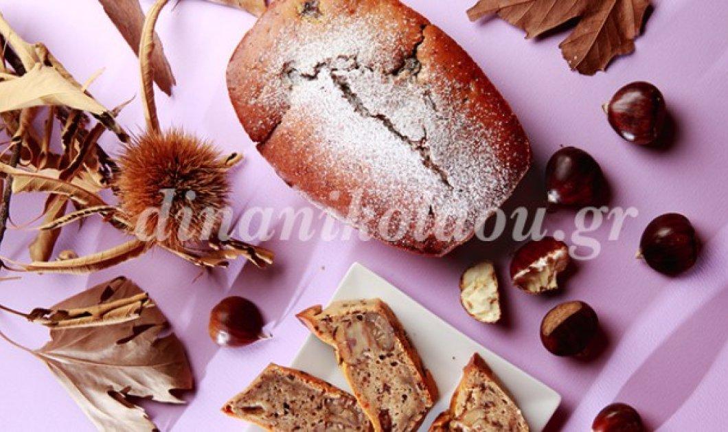 Πλούσιο, κρεμώδες και ακαταμάχητο κέικ με σοκολάτα και κάστανο από την Ντίνα Νικολάου - Κυρίως Φωτογραφία - Gallery - Video