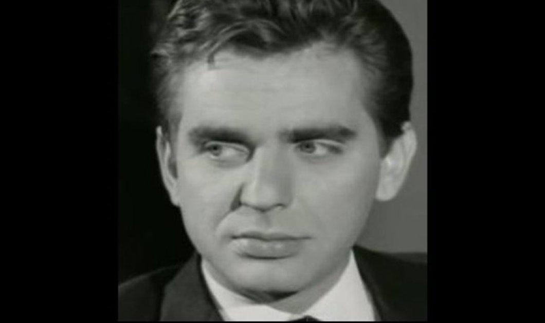 Πέθανε ο ηθοποιός Βασίλης Μαυρομάτης - το συγκινητικό αντίο από τον Δημήτρη Κωνσταντάρα  - Κυρίως Φωτογραφία - Gallery - Video