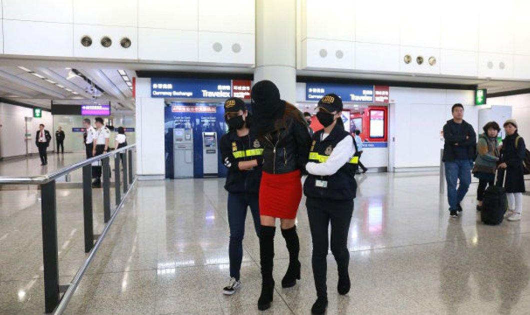 Κόρη αστυνομικού απ' τη Λέσβο είναι η 19χρονη που συνελήφθη με 2,6 κιλά κοκαΐνης στο Χονγκ Κονγκ - Κυρίως Φωτογραφία - Gallery - Video