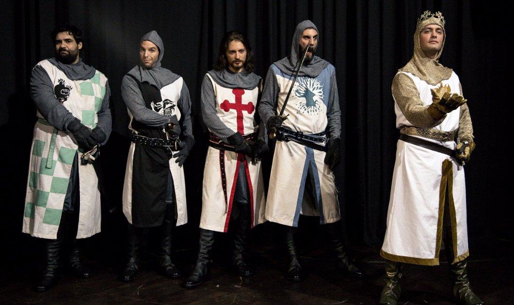 Το διάσημο μιούζικαλ «Monty Python's SPAMALOT» για πρώτη φορά στην Ελλάδα στο Γυάλινο Μουσικό Θέατρο - Κυρίως Φωτογραφία - Gallery - Video