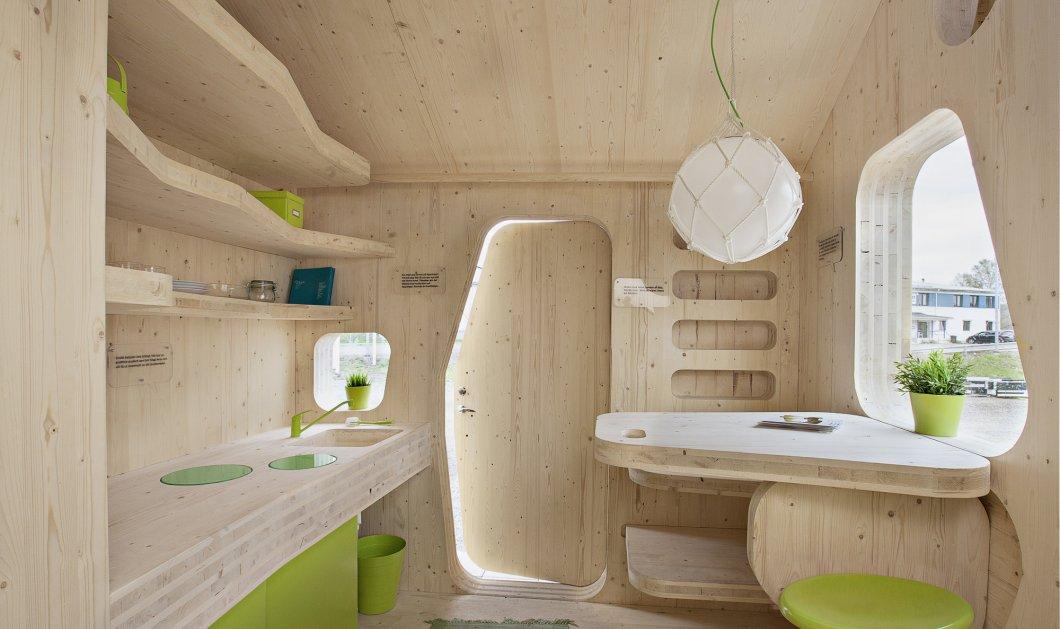 Πρωτοποριακό φοιτητικό σπίτι 10 τετραγωνικών με κήπο αίθριο & καλαισθησία ! (ΦΩΤΟ)  - Κυρίως Φωτογραφία - Gallery - Video