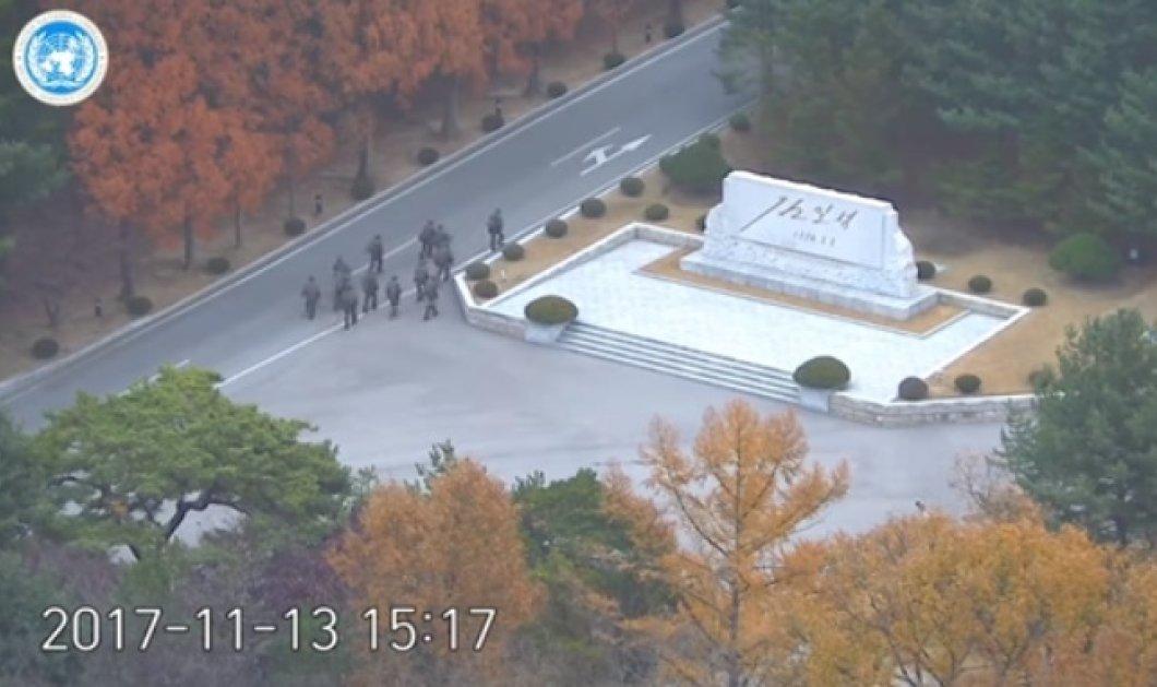 Βίντεο: Συγκλονιστική προσπάθεια Βορειοκορεάτη στρατιώτη να αυτομολήσει στη Ν.Κορέα - Κυρίως Φωτογραφία - Gallery - Video