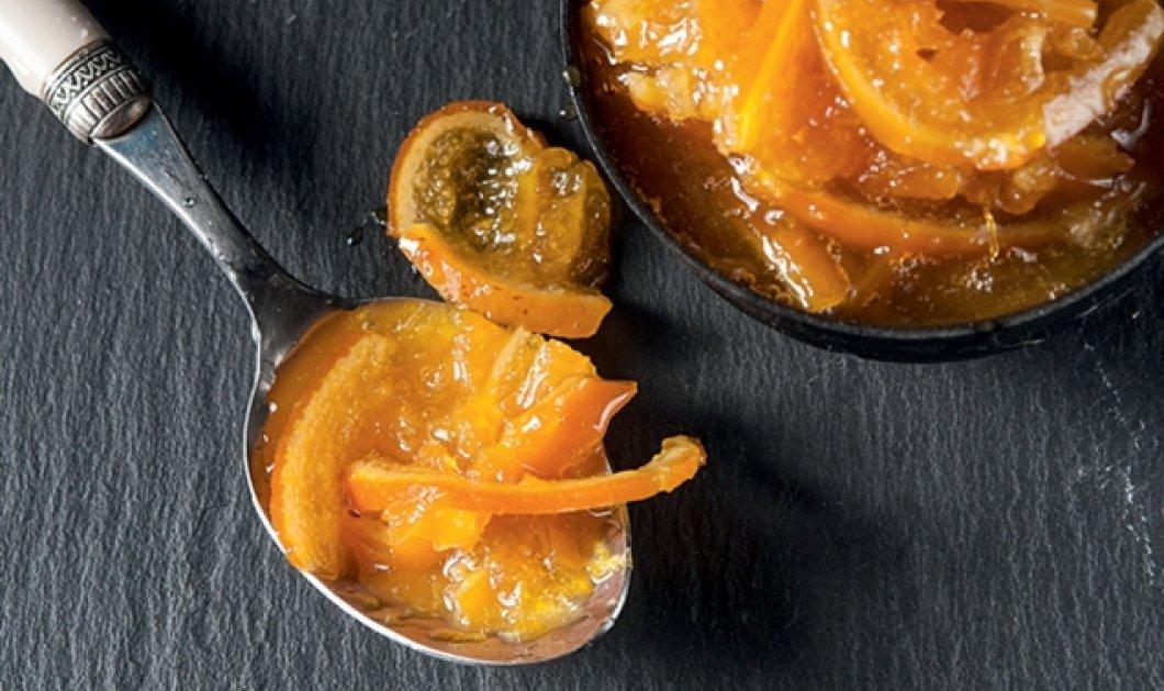 Τέλεια μαρμελάδα πορτοκάλι με κομμάτια πορτοκαλιού από την Αργυρώ μας  - Κυρίως Φωτογραφία - Gallery - Video