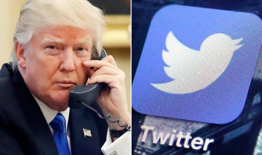 Συμβαίνουν και αυτά: Υπάλληλος του Twitter απενεργοποίησε κατά λάθος τον λογαριασμό του Τραμπ - Κυρίως Φωτογραφία - Gallery - Video
