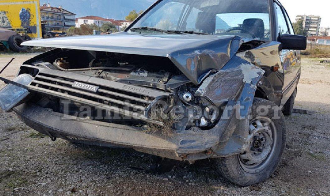Λαμία: Απίστευτο τροχαίο με επτά αγριογούρουνα είχε ανυποψίαστη οδηγός! - Κυρίως Φωτογραφία - Gallery - Video