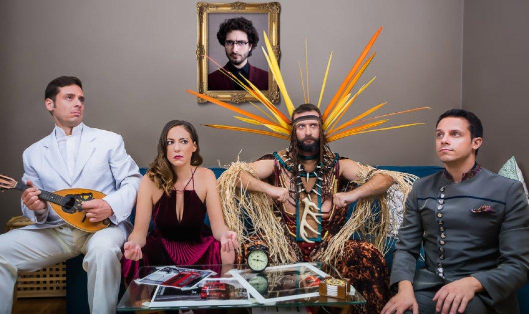 """Ο Λάμπρος Φισφής σε μια ανατρεπτική us usual παράσταση στο θέατρο Βέμπο- """"Τι ζούμε"""" - Αλήθεια τι ζούμε;  - Κυρίως Φωτογραφία - Gallery - Video"""