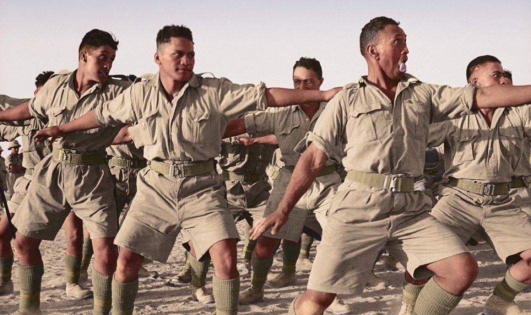 Σπάνιες έγχρωμες φωτογραφίες που δείχνουν τι έκαναν οι στρατιώτες όταν δεν πολεμούσαν στο Παγκόσμιο Πόλεμο  - Κυρίως Φωτογραφία - Gallery - Video