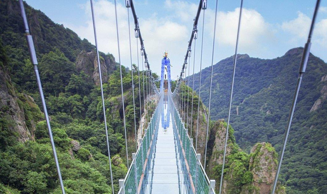 Εντυπωσιακή και ...λίγο τρομακτική η μεγαλύτερη γυάλινη γέφυρα του κόσμου (ΦΩΤΟ) - Κυρίως Φωτογραφία - Gallery - Video
