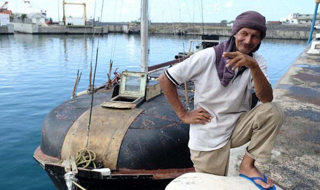 Story: Θαλασσοδερνόταν 7 μήνες με σπασμένο αυτοσχέδιο σκάφος στον Ινδικό  - Κυρίως Φωτογραφία - Gallery - Video