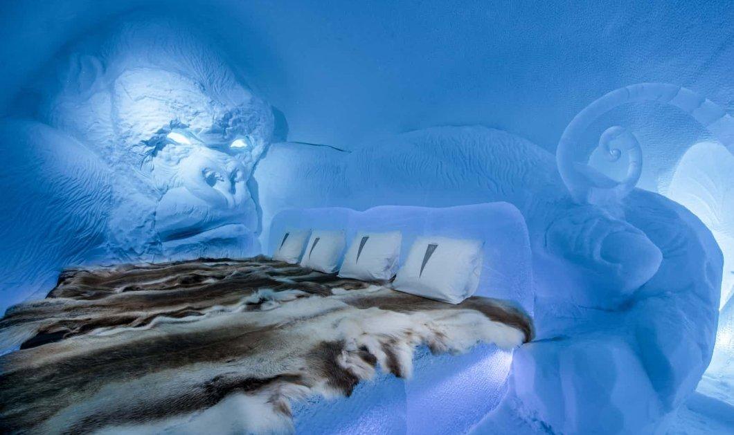 Χειμερινό παλάτι: Το Icehotel της Σουηδίας ανοίγει τις πόρτες του και σας υποδέχεται - ΦΩΤΟ - Κυρίως Φωτογραφία - Gallery - Video