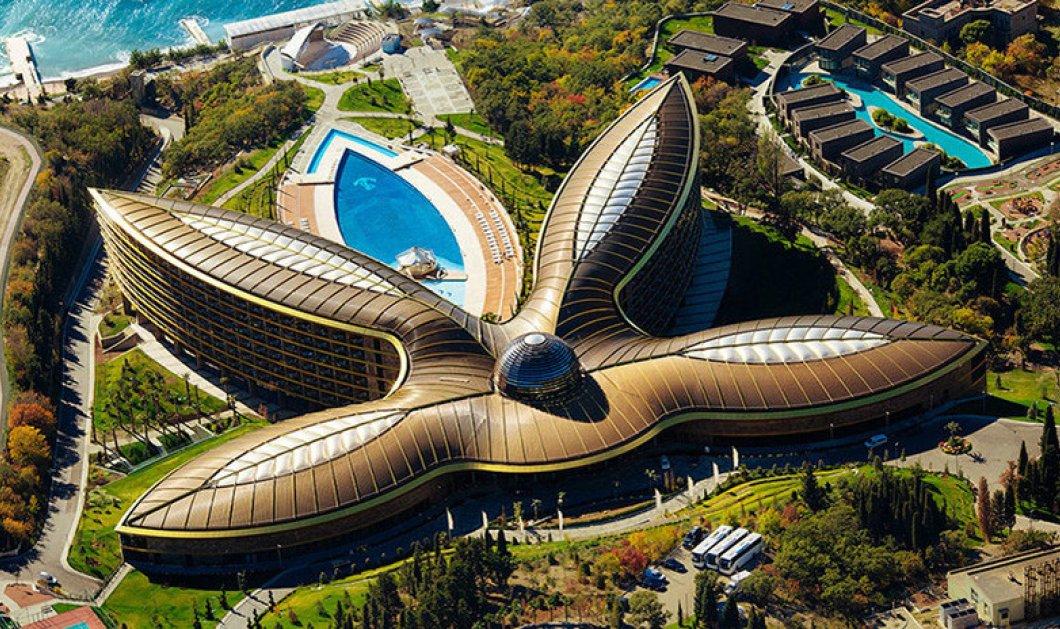 Το Mriya Resort & Spa κέρδισε το βραβείο του καλύτερου ξενοδοχείου του κόσμου για το 2017 - Απίστευτες φώτο  - Κυρίως Φωτογραφία - Gallery - Video