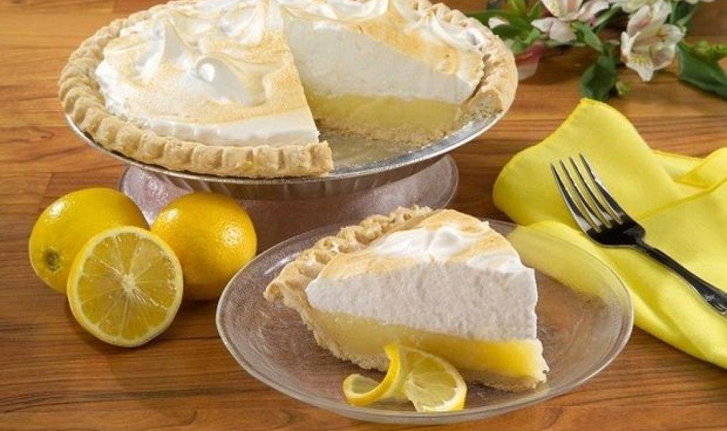 Το Μεσαίωνα φτιάχτηκε η πρώτη lemon pie ! Πότε προστέθηκε η λαχταριστή μαρέγκα - Κυρίως Φωτογραφία - Gallery - Video