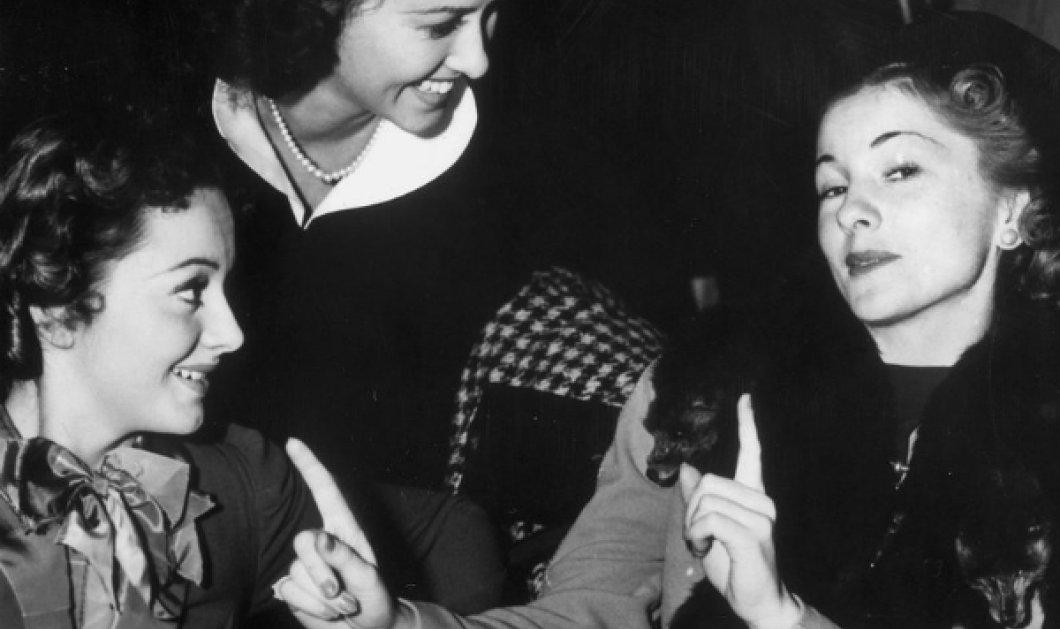 Vintage Story: 1941 Β' Παγκόσμιος πόλεμος αλλά στα Όσκαρ το μίσος δύο πανέμορφων αδελφών κορυφώνεται - Ολίβια Ντε Χαβιλάντ δεν χαιρετάει καν την αδελφή της Τζέιν Φοντέιν (Φωτό - Βίντεο)  - Κυρίως Φωτογραφία - Gallery - Video