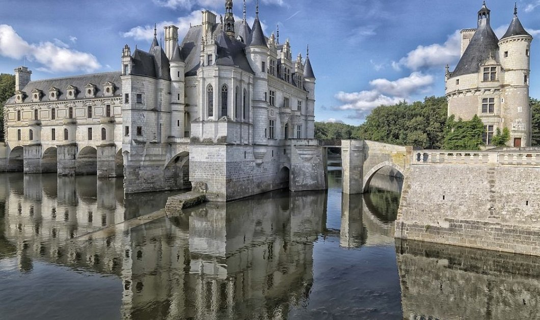 Το Château de Chenonceau: Το πιο μαγικό παλάτι χτισμένο πάνω σε ποτάμι της Γαλλίας  - Κυρίως Φωτογραφία - Gallery - Video