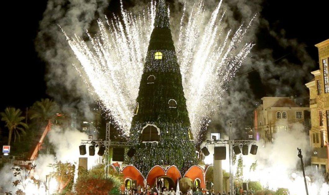 Χριστούγεννα 2017: Αυτά είναι τα κορυφαία Χριστουγεννιάτικα δέντρα σε όλες τις πόλεις του κόσμου - Από το Μεξικό έως την Ιαπωνία - Κυρίως Φωτογραφία - Gallery - Video