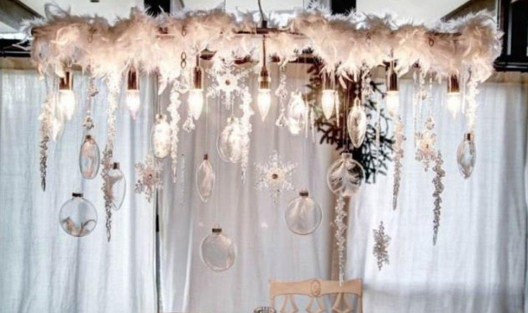 Φαντασμαγορική διακόσμηση μόνο με φωτάκια για τα πιο λαμπερά Χριστούγεννα μέσα στο σπίτι σας - Κυρίως Φωτογραφία - Gallery - Video