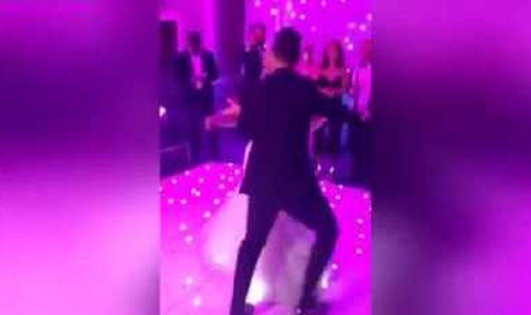 Βίντεο: Γαμπρός έκανε χορευτικές φιγούρες & προσγειώθηκε στο έδαφος - Σηκώθηκε σαν να μην έγινε ποτέ... - Κυρίως Φωτογραφία - Gallery - Video