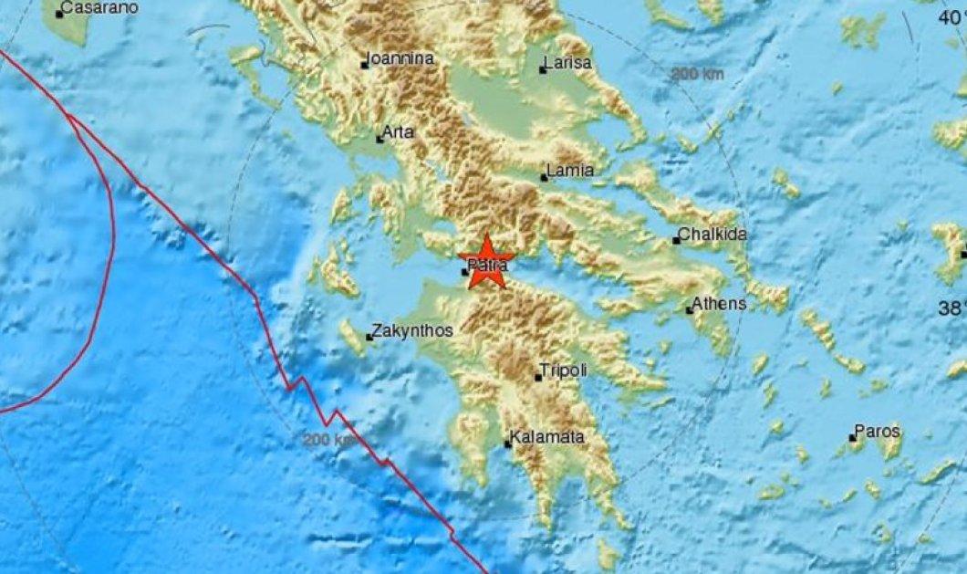 Σεισμός 3,4 Ρίχτερ στην Πάτρα- Έγινε αισθητή λόγω του μικρού εστιακού βάθους της  - Κυρίως Φωτογραφία - Gallery - Video