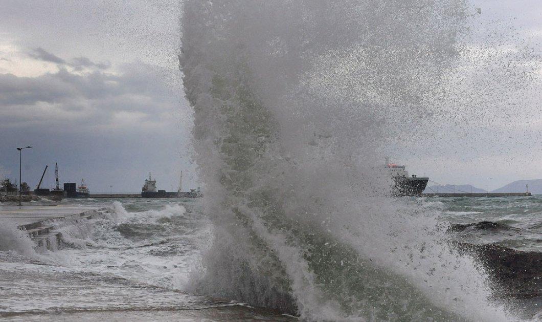 Κακοκαιρία: Αναλυτικά τα λιμάνια που έχουν διακόψει δρομολόγια  - Κυρίως Φωτογραφία - Gallery - Video
