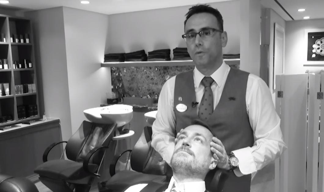 Wet shaving: Οι άνδρες επιστρέφουν στο κλασικό ξύρισμα κούρεμα και γίνονται ξανά αρσενικά     - Κυρίως Φωτογραφία - Gallery - Video