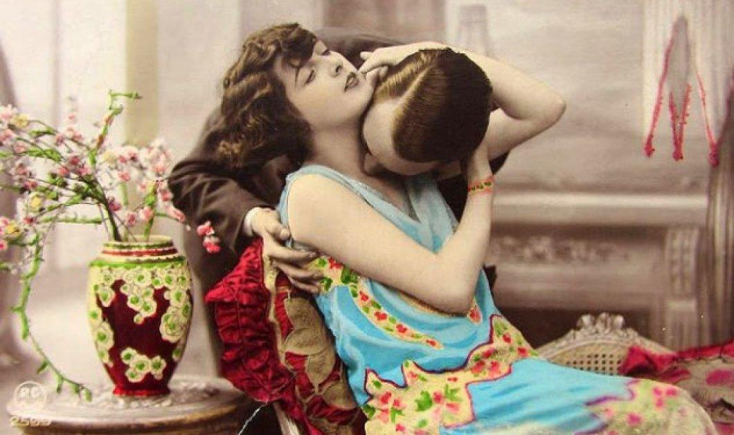 Vintage εικόνες: 20 μοναδικές καρτ ποστάλ με ρομαντικά ερωτικά φιλιά στην δεκαετία του 1920!  - Κυρίως Φωτογραφία - Gallery - Video