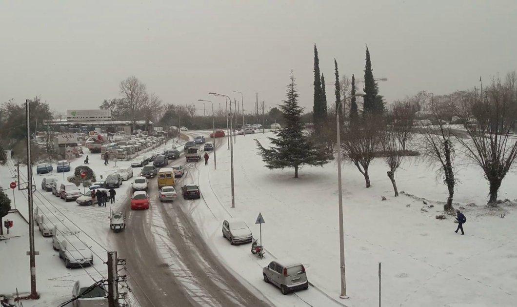 Οδηγίες προς ... οδηγούς-  Τι να προσέχουν ενόψει του χιονιά - Κυρίως Φωτογραφία - Gallery - Video