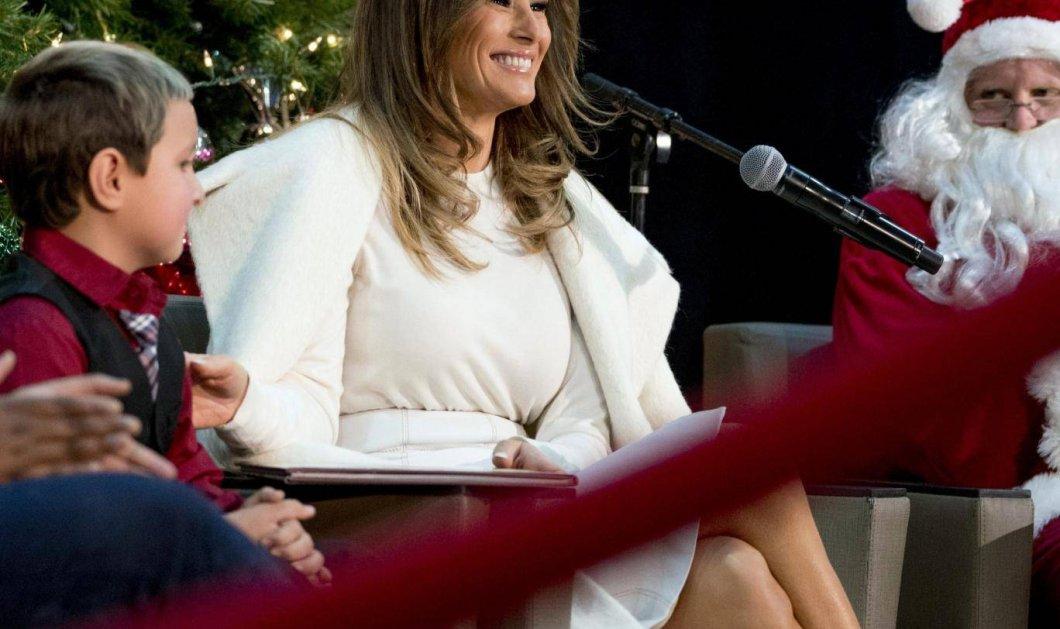 """Βίντεο: Η  Μελάνια Τραμπ εξομολογείται: """"Θα προτιμούσα να περάσω τα Χριστούγεννα σε ένα ερημικό νησί"""" - Κυρίως Φωτογραφία - Gallery - Video"""